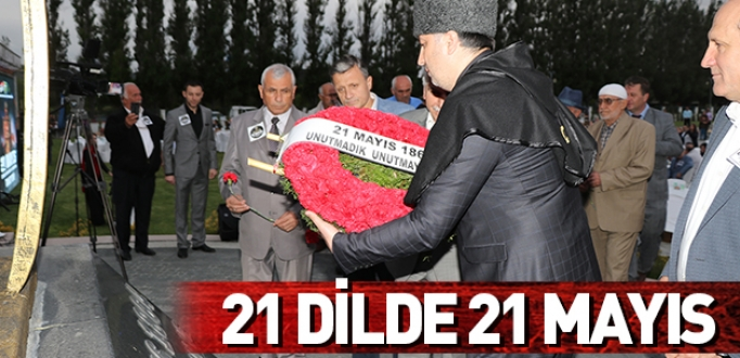 21 DİLDE 21 MAYIS